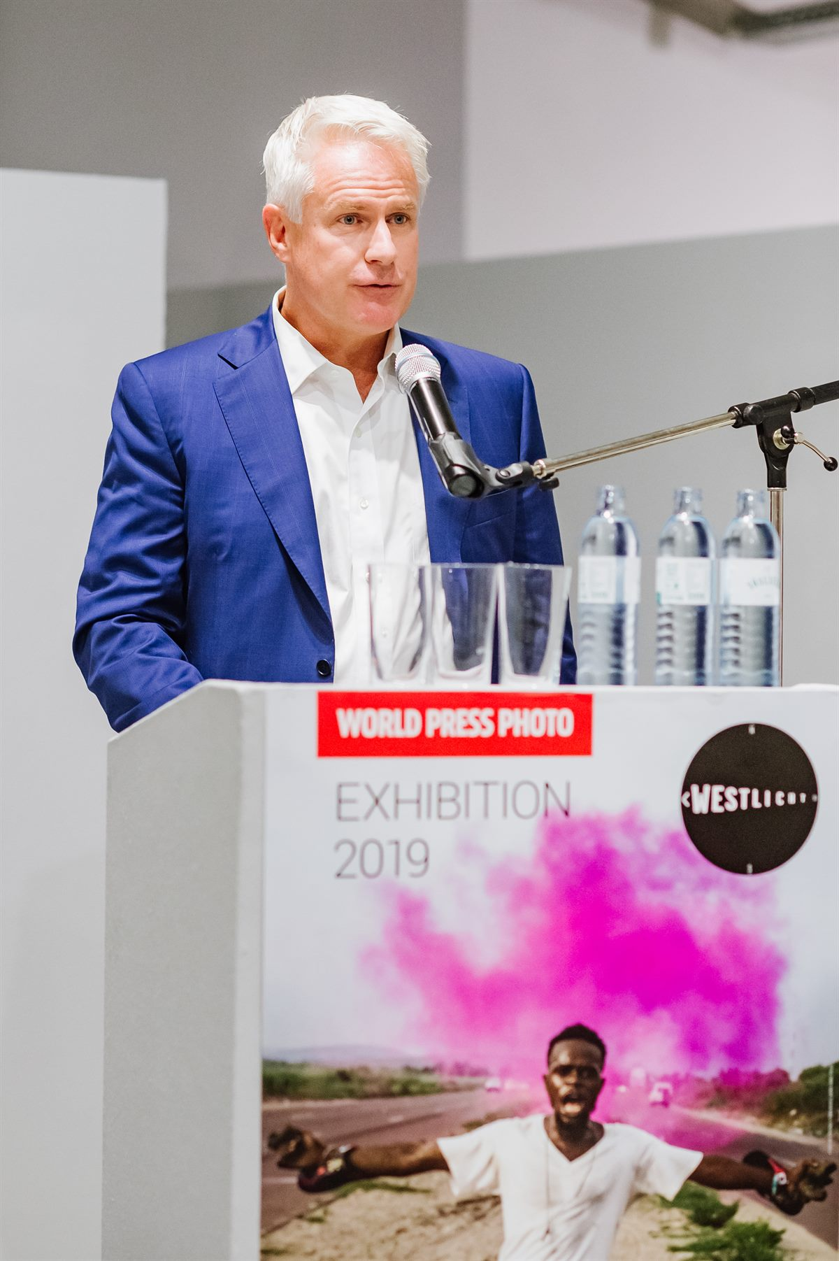 John Moore, Getty Images, bei der World Press Photo Ausstellung 2019 im WestLicht